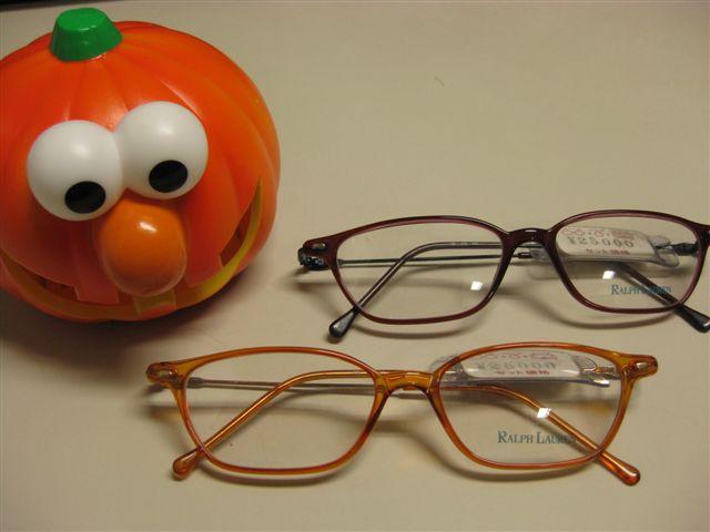 ラルフローレンのメガネ