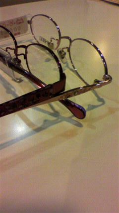 リップサービスのメガネフレーム
