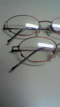 ルーチェのメガネ