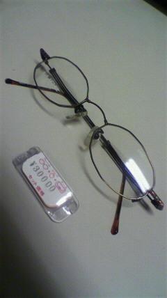 ルーチェのメガネその2